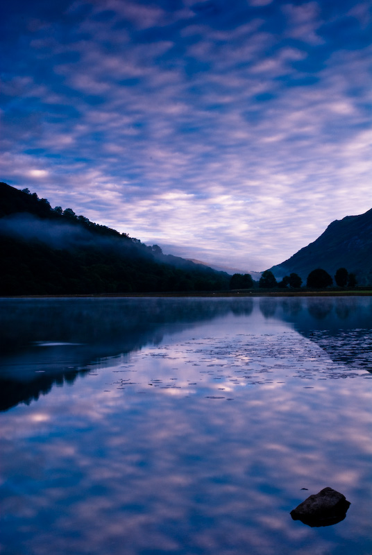 Sunset, Brothers Water, Lake District