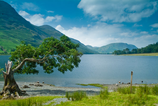 Photo Of Buttermere Gatesgarth Lake District