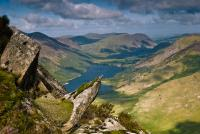 Buttermere from Fleetwith Pike, Lake District
