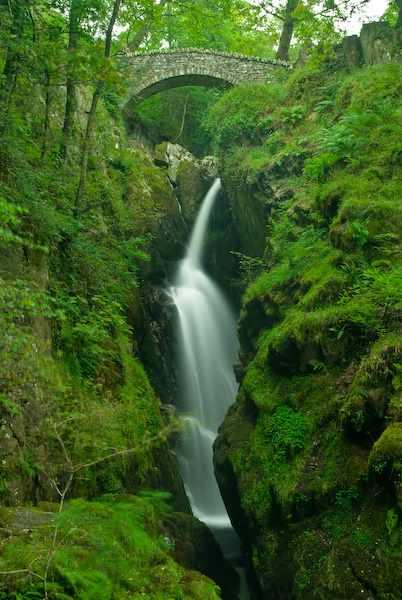 Aira Force waterfall, Ullswater, Lake District