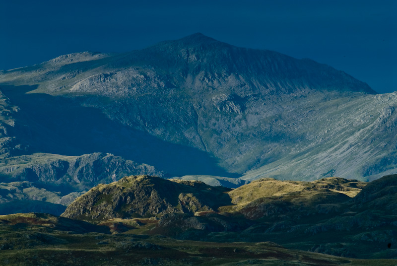 Scafell Pike from Birker Fell, Lake District