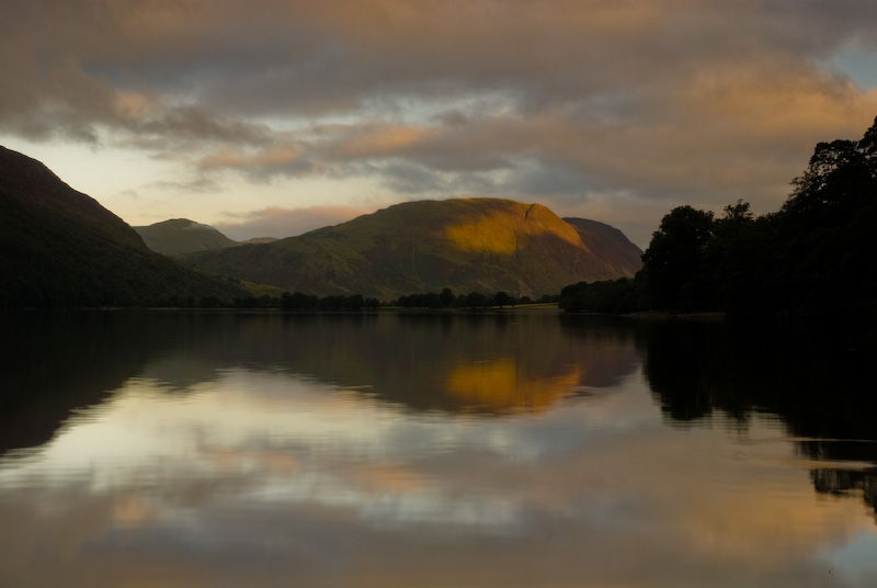 Lake Buttermere sunrise, Lake District