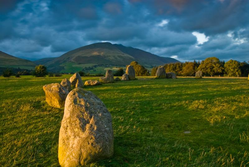 Photo Of Castlerigg Stone Circle Keswick Lake District