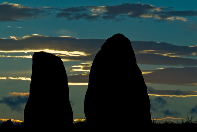 Sunset at Castlerigg Stone Circle, Keswick