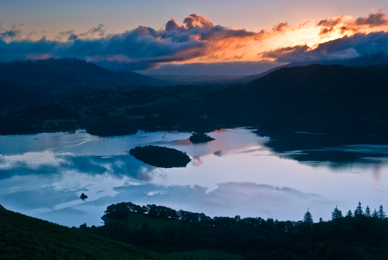 Derwentwater sunrise, Catbells, Lake District