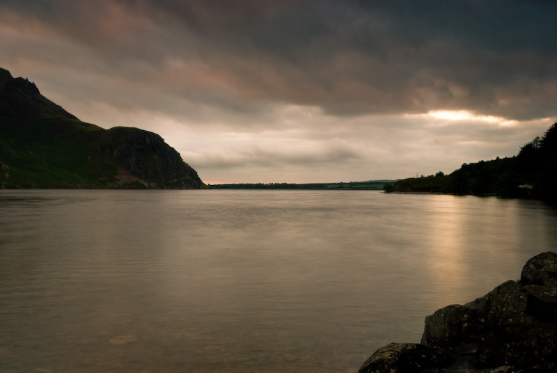 Ennerdale Water sunset, Lake District