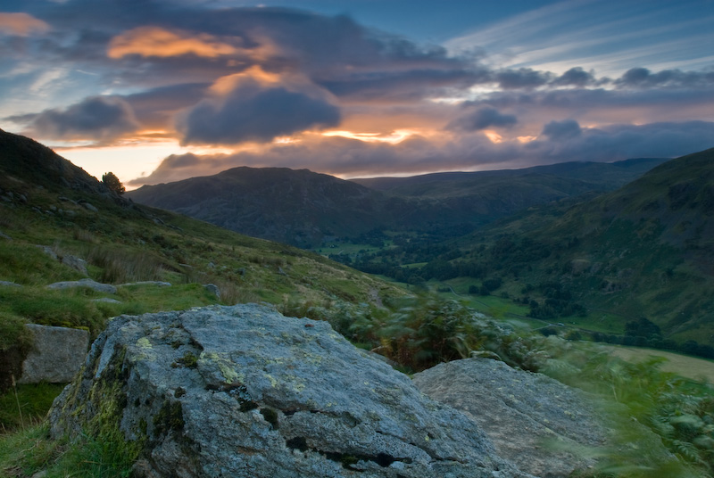 Helvellyn sunrise, Lake District