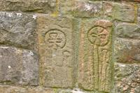 Ireby Old Chapel, Viking carvings