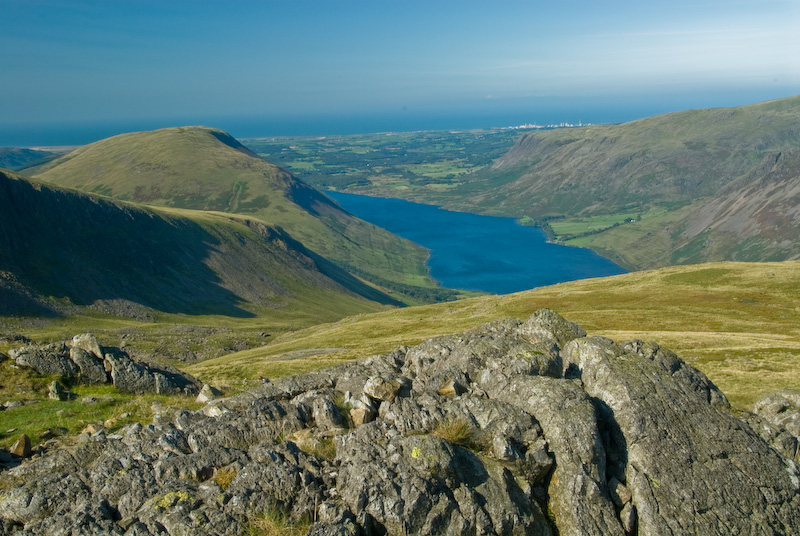 View of Wast Water, Lake District