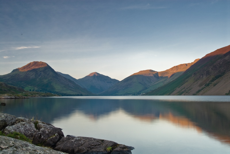 Wast Water sunset, Lake District
