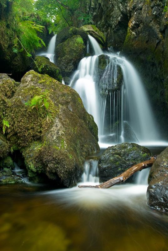 Lodore falls, near Grange, Derwentwater