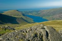 Wast Water from Scafell Pike