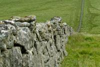 Stone wall at Grey Weathers stone circle