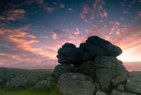 Bonehill Rocks at sunrise