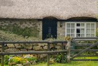 Thatched cottage, Hound Tor
