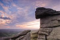 Hound Tor at sunrise