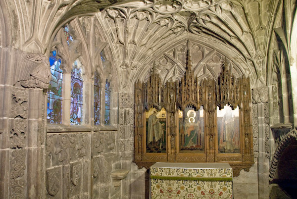 Photo Of Stanbury Chapel Hereford Cathedral
