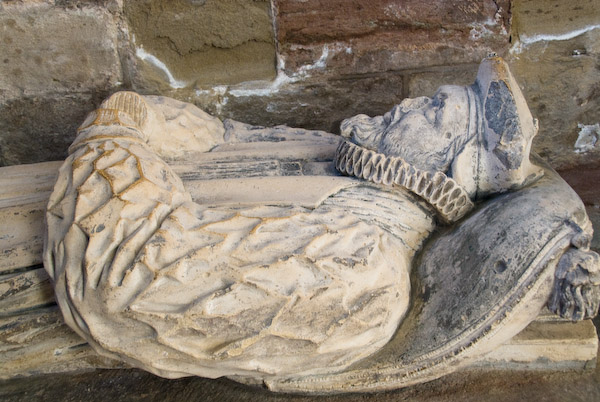 Photo of Medieval effigy Hereford Cathedral