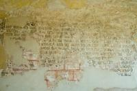 Michaelchurch medieval wall painting