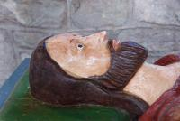 Walter de Helyon effigy, Much Marcle church, Herefordshire
