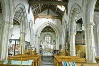 The nave of Ashbury St Marys