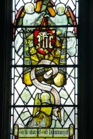 Stained glass, Ashbury, Wiltshire