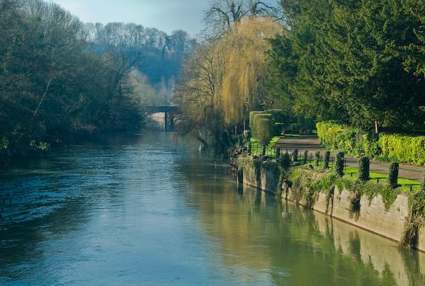 Photo Of The River Avon At Bradford On Avon Wiltshire
