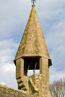 Castle Eaton church, bell turret