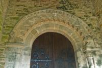 Castle Eaton church, south door