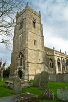 The 15th century west tower of St Michaels, Highworth