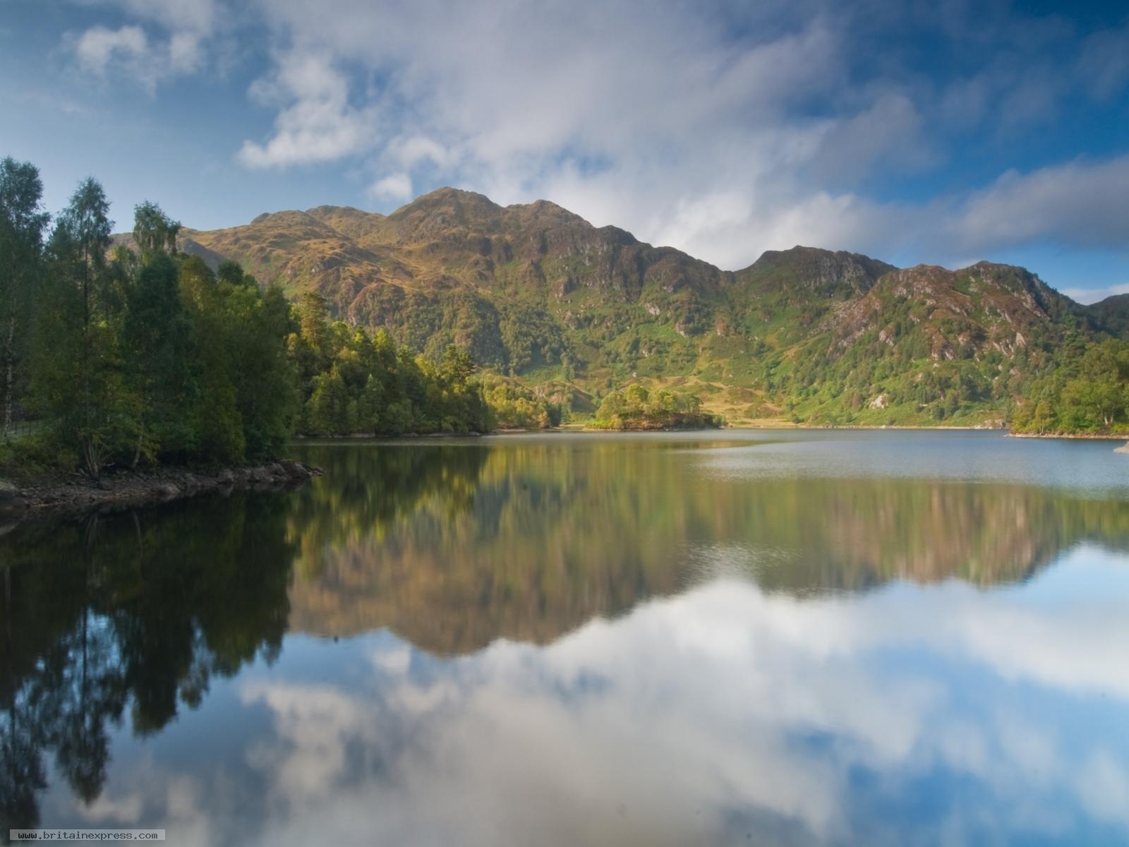 Photo Of Loch Katrine Trossachs