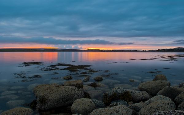 Loch Ewe sunset, Wester Ross