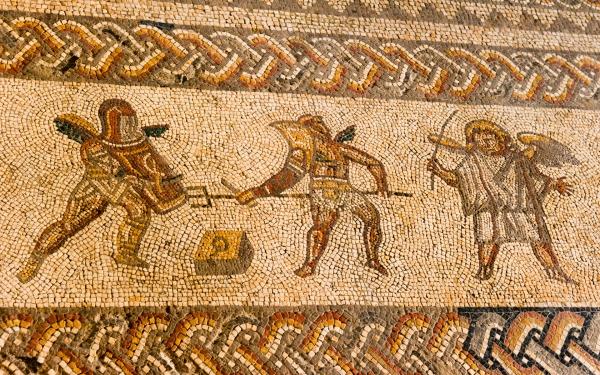 Primary homework help romans mosaic