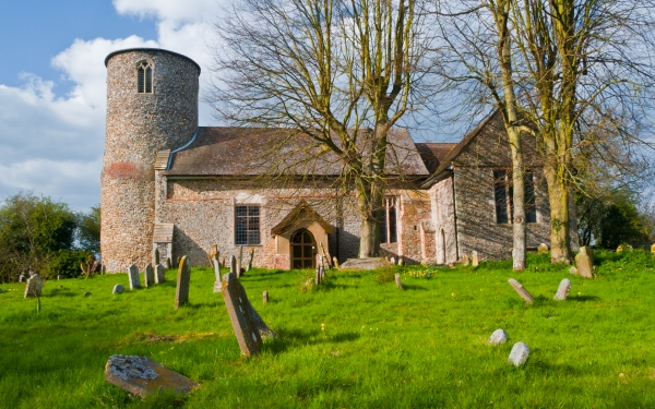 Bruisyard church, Suffolk