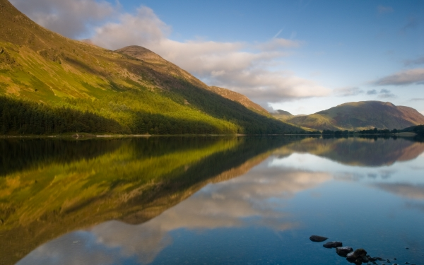 Buttermere reflections at dawn
