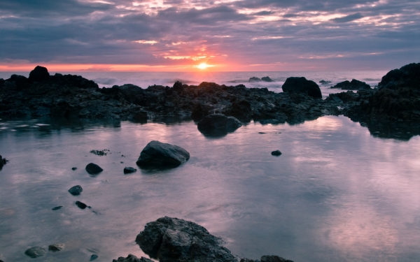 Church Bay sunset, Anglesey