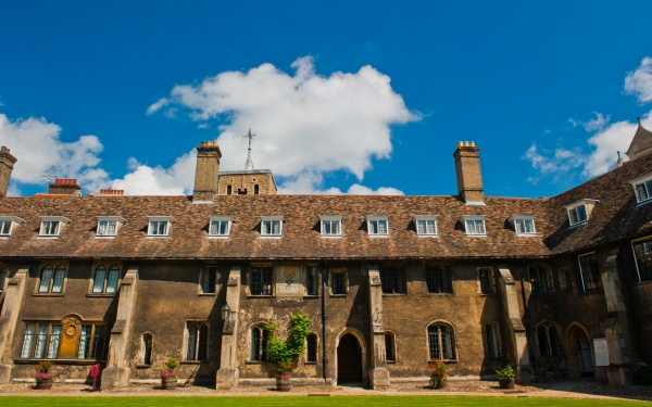 Corpus Christi College Old Court, Cambridge