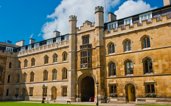 Corpus Christi College, New Court, Cambridge
