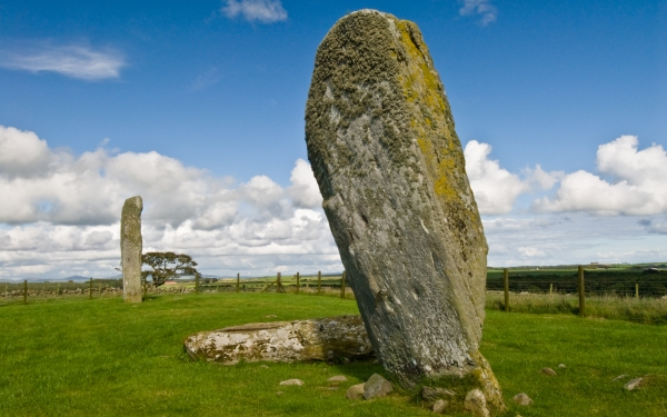 Drumtroddan Standing Stones, Dumfries and Galloway