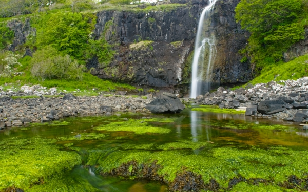 Eas For waterfall, Mull