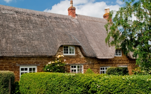 Thatched cottage, Exton, Rutland
