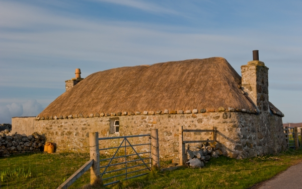 Thatched cottage, South Uist