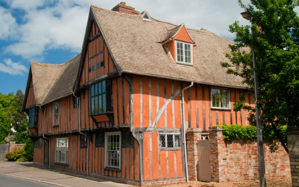 Godmanchester timber-framed building