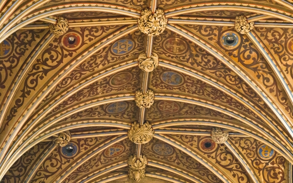 Hereford Cathedral vaulting