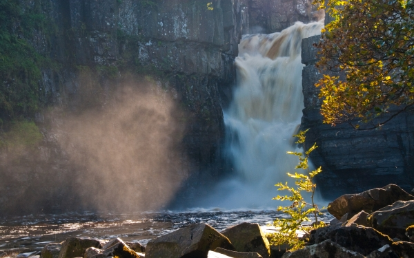 High Force Waterfall, Teesdale, County Durham