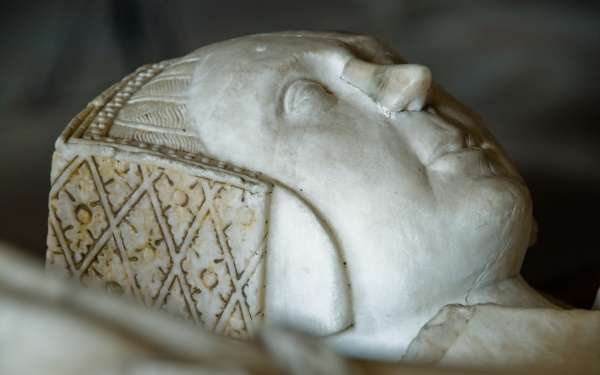 Lady Sybil Scudamore effigy, Holme Lacy