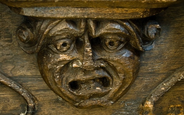 Misericord, Holme Lacy