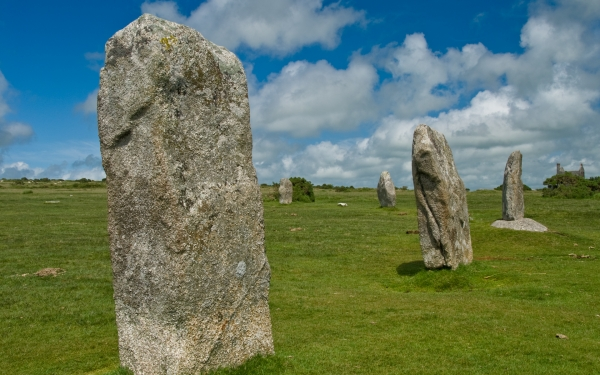 The Hurlers Stone Circle, Minions, Cornwall
