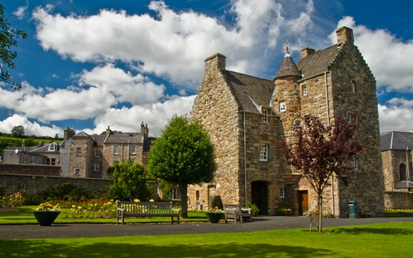 Mary Queen of Scots House, Jedburgh, Scottish Borders