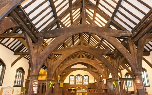 Timber framed church, Lower Peover, Cheshire